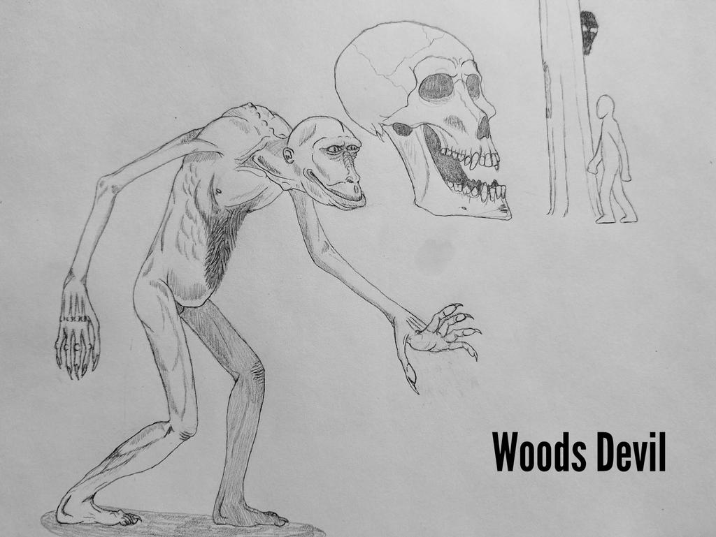 COTW#231: The Woods Devil by Trendorman