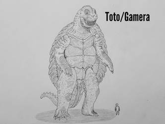 MonsterIslandExpanded: Toto/Gamera by Trendorman