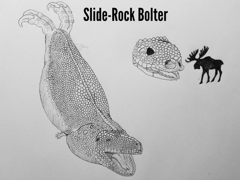 COTW#242: The Slide-Rock Bolter by Trendorman