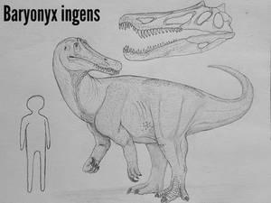 Monster Island Expanded: Baryonyx ingens
