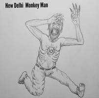 COTW#297: New Delhi Monkey Man