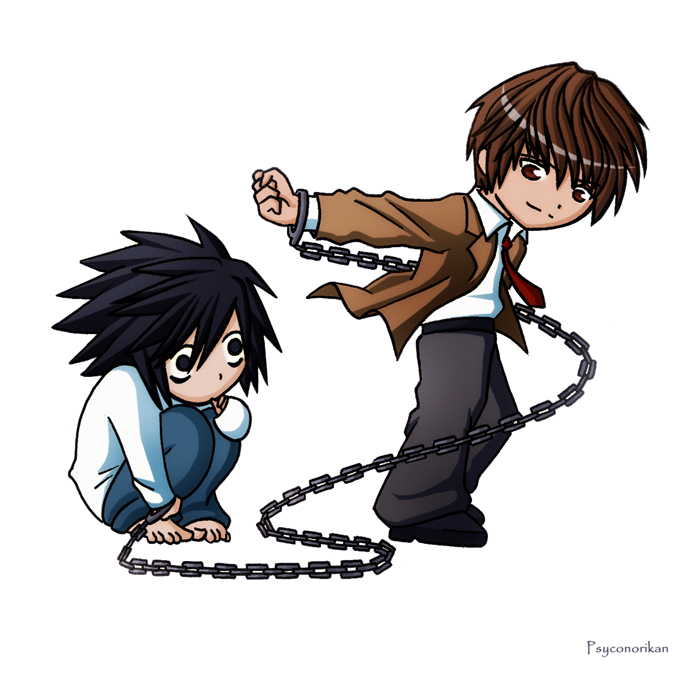 Death Note - Chibis of Doom by Psyconorikan on DeviantArt