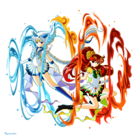 +Sailor Lugia and Ho-oh+