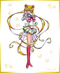 Ready for Battle Sailor Moon by Psyconorikan