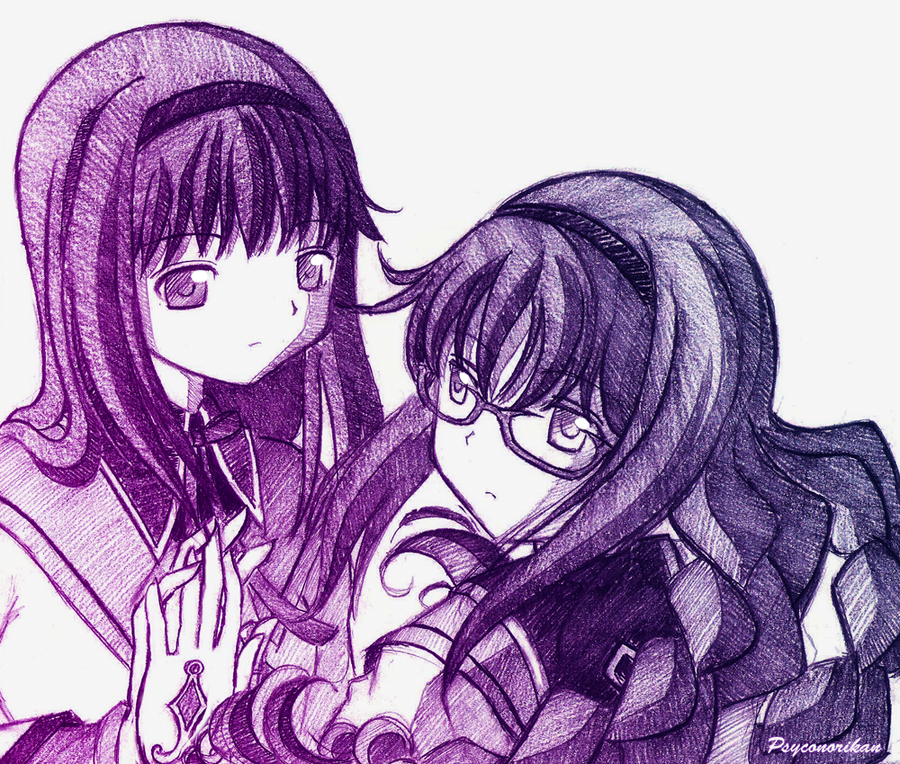 Homura - Come With Me by Psyconorikan