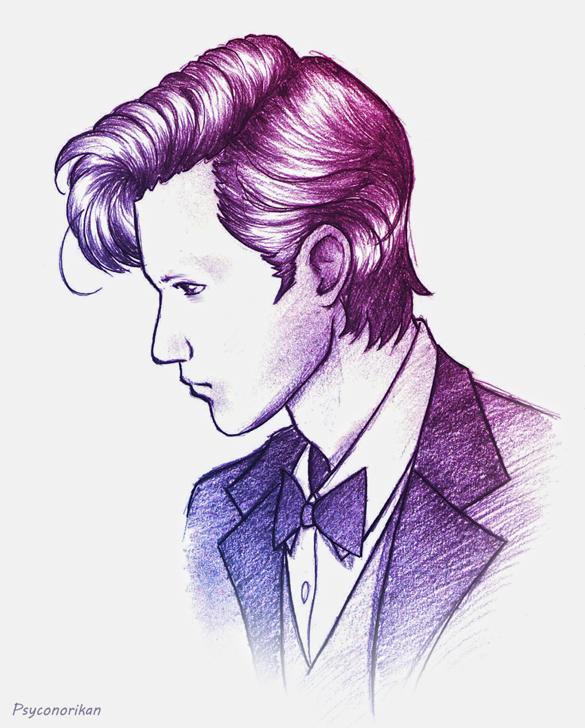 the eleventh doctor by psyconorikan on deviantart