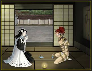 Tea with Taichou by N23