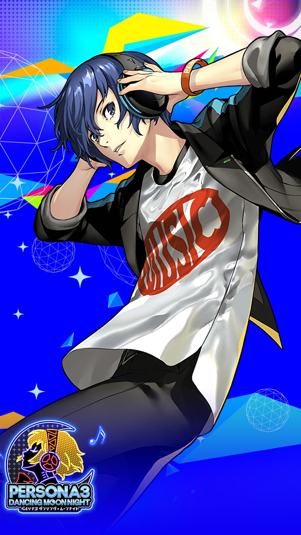 Persona 3 Dancing Moon Night Makoto Yuki Wallpaper By Farizf On