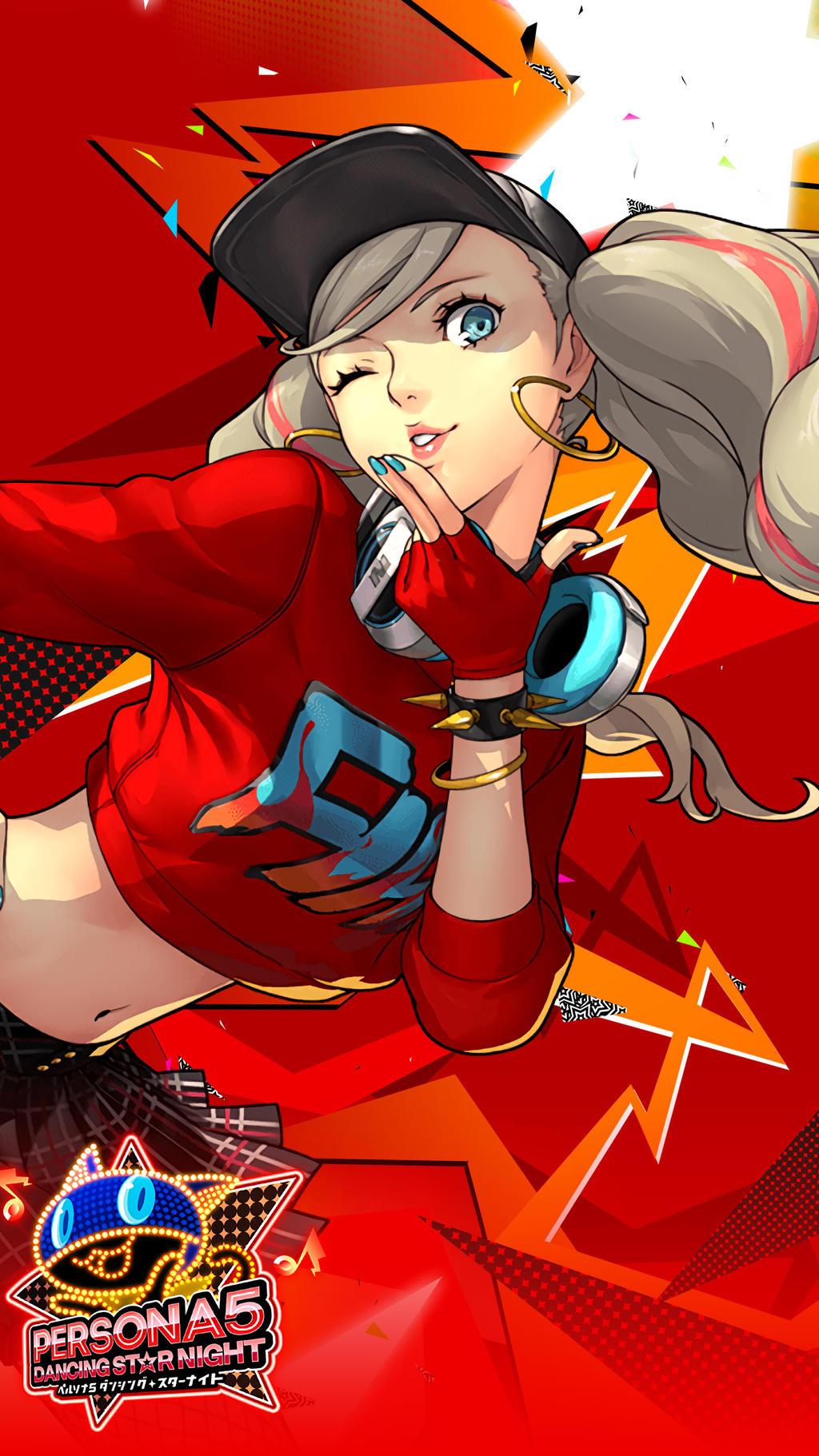 Persona 5 Dancing Star Night Ann Wallpaper By Farizf On Deviantart