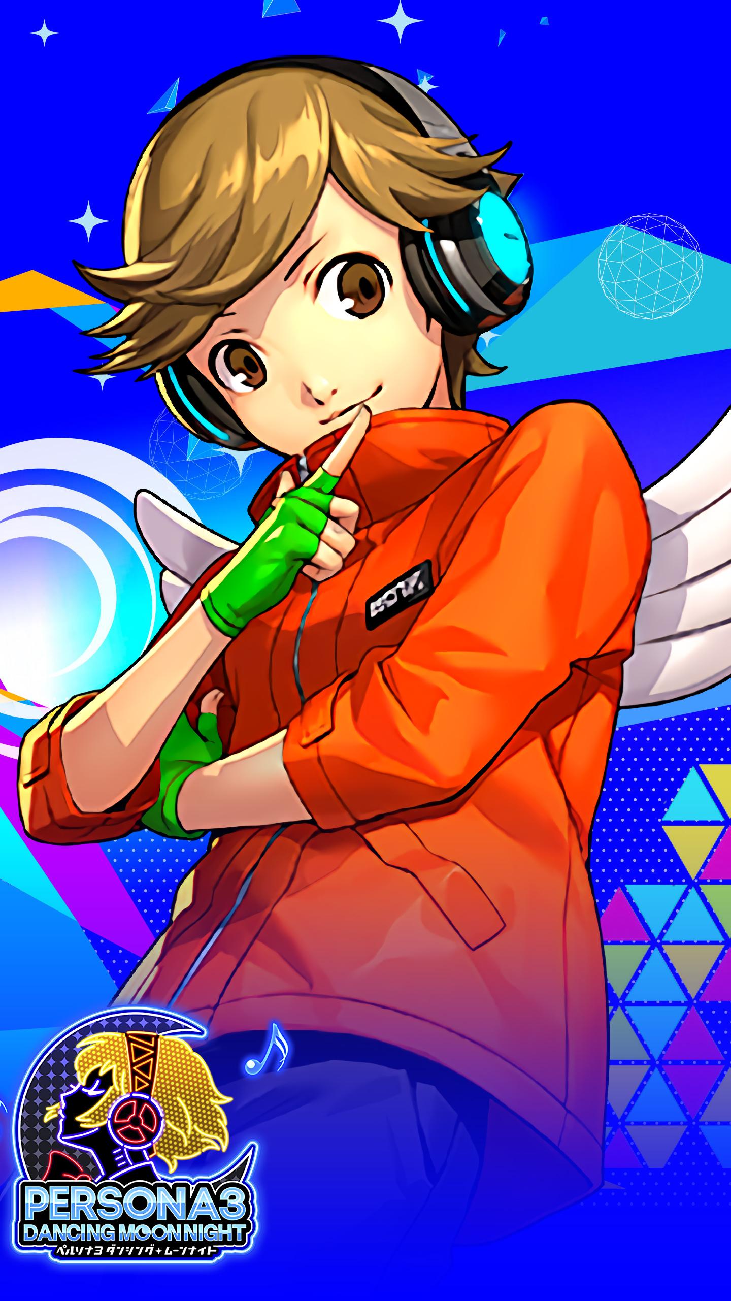 Persona 3 Dancing Moon Night Ken Wallpaper Mobile By Farizf On