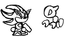 SimpleShadow the Hedgehog by GBASP05