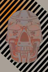 Metal Skull by fishmanjo