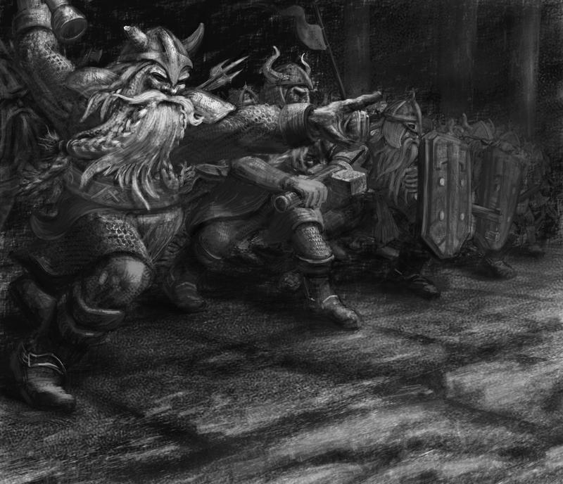 Dwarven Charge by Spivak000