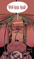 Happy 2013, says Satan Claws! by Mogorron