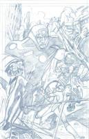 X-Treme X-Men 13 page 1 by Mogorron