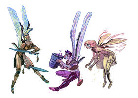 Dated Faeries by Mogorron