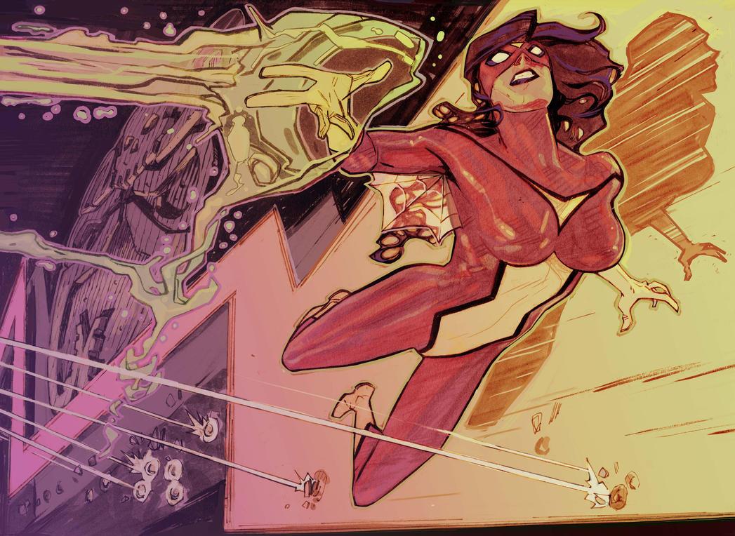 Spiderwoman La Isla by Mogorron