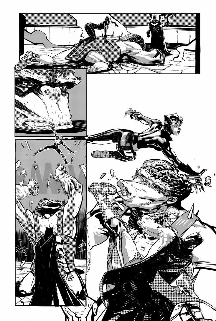 Batman 3 by Mogorron