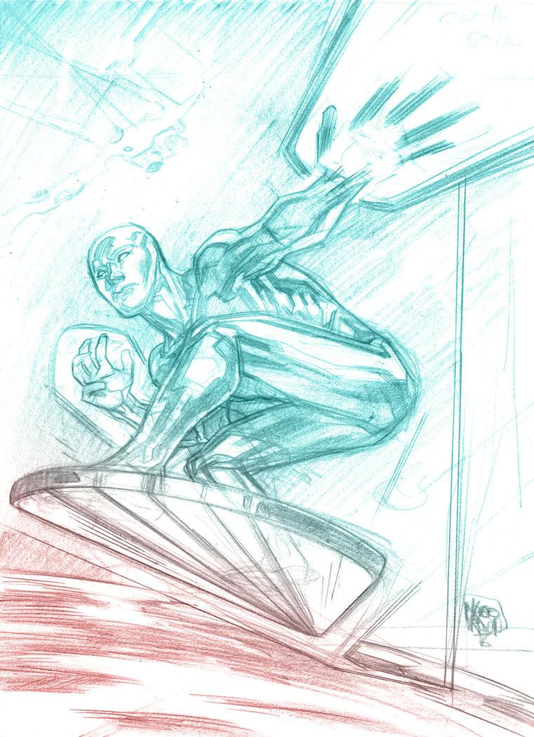 Silver Surfer by Mogorron