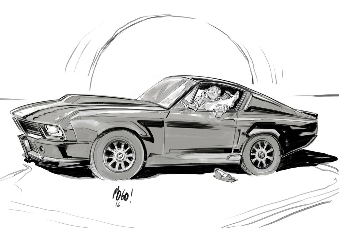 Mustang by Mogorron