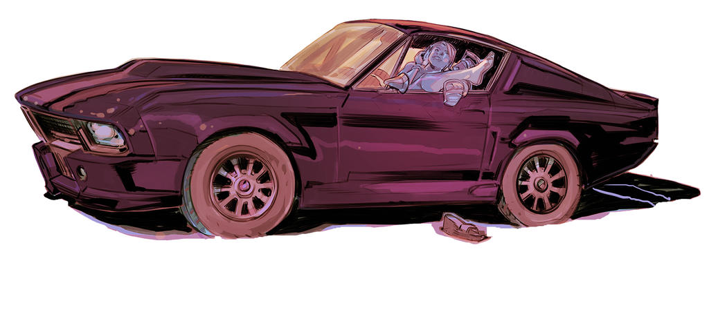 Mustang Color by Mogorron