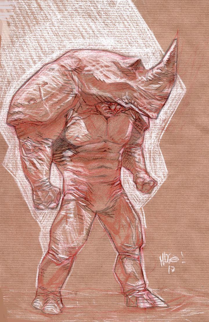 The Rhino by Mogorron