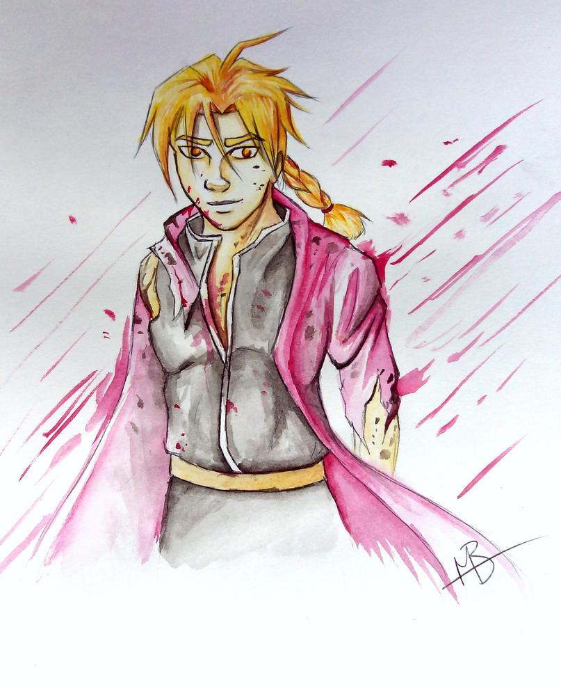 Edward Elric Sketch by BaserBeanz