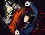 Roy Mustang vs. Death the Kid