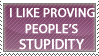 Stupidity Stamp by In-The-Zone