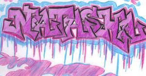 Natasha Graffiti by missxnatasha