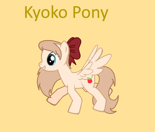 MLP Yuru Yuri Kyoko Toshino Pony By VintageSniper On DeviantArt