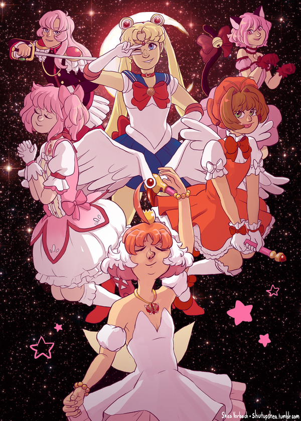 Magical Girls by Kirokokori
