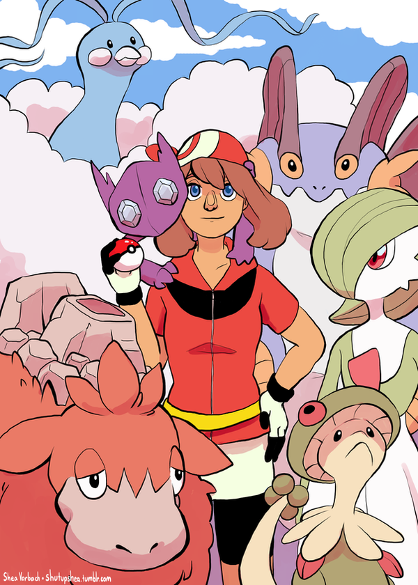 Pokemon Girls: May by Kirokokori