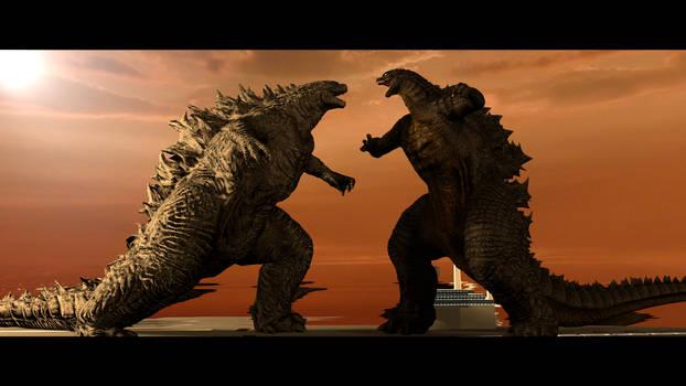 Godzilla vs Godzilla..?