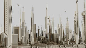Futuristic Sci-Fi Buildings