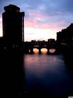 rochester sunset 2 by CiRcUsSpiDeR