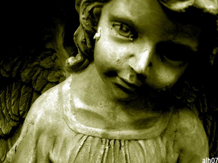 garden angel by CiRcUsSpiDeR