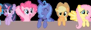 Pocket Ponies by OceanBreezeBrony