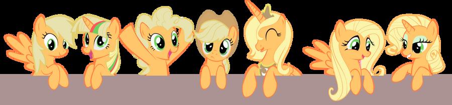 My Little Applejacks by OceanBreezeBrony