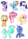 Pocket Pony Cutouts