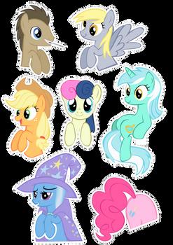 Pocket Pony Cutouts PART TWO