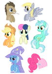 Pocket Pony Cutouts PART TWO