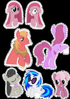 Pocket Pony Cutouts PART THREE