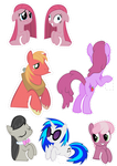 Pocket Pony Cutouts PART THREE