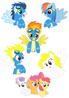 Pocket Pony: WONDERBOLTS by OceanBreezeBrony