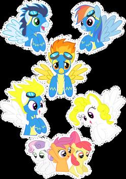 Pocket Pony: WONDERBOLTS
