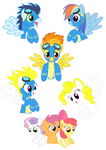 Pocket Pony: WONDERBOLTS