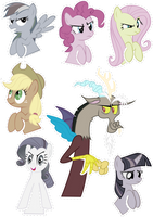 Pocket Pony DISCORD Edition by OceanBreezeBrony