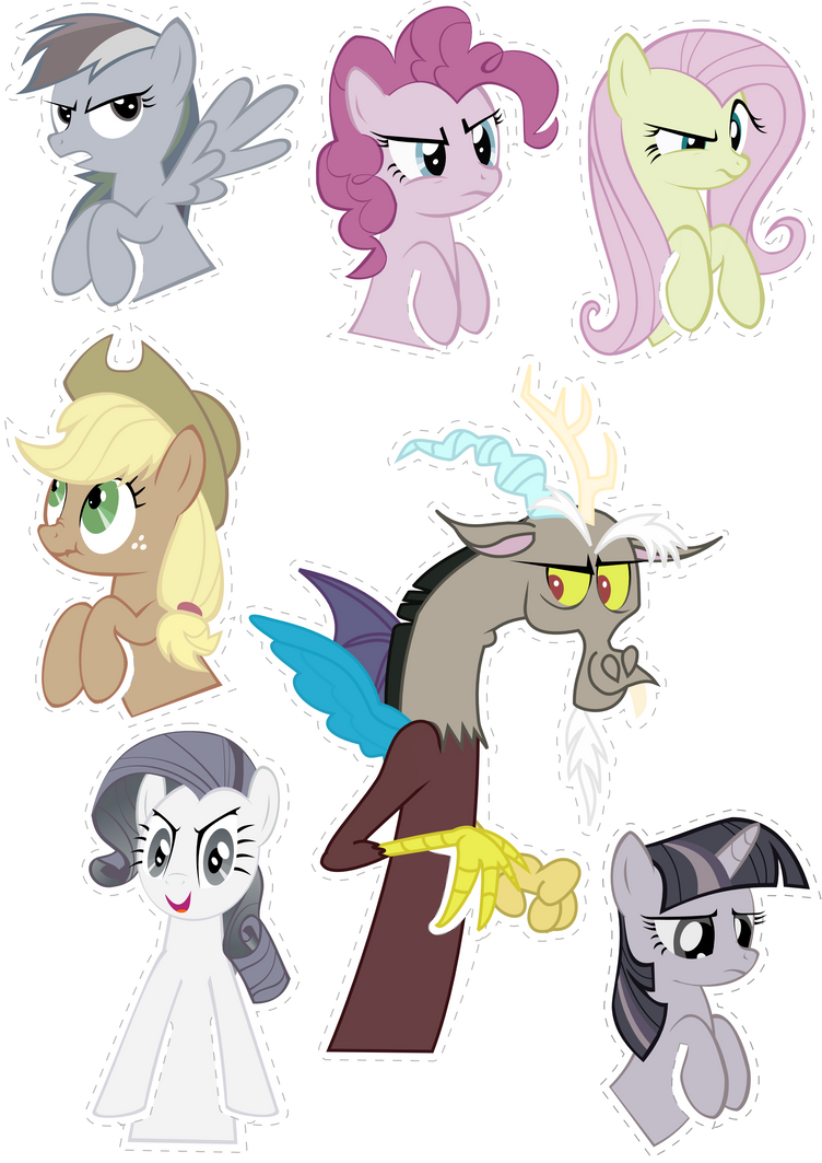 Pocket Pony DISCORD Edition by OceanBreezeBrony
