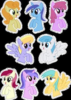Pocket Pony Background Edition